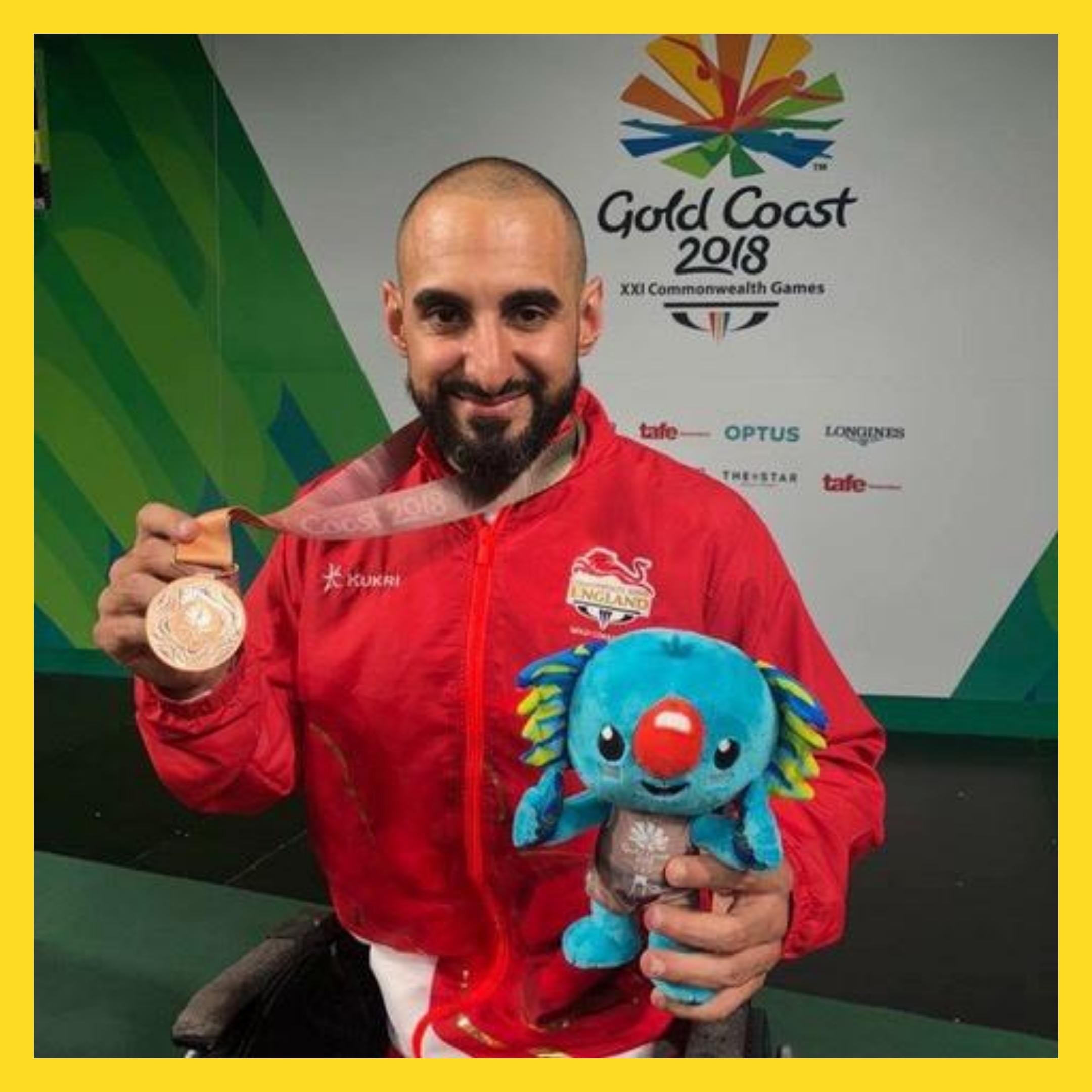 Ali Jawad Paralympian Weightlifter