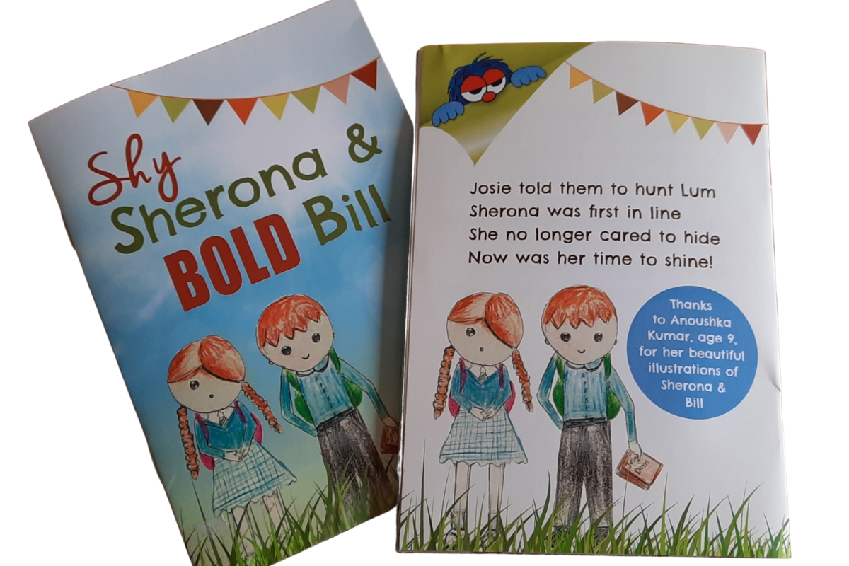 Shy Sherona mini-books