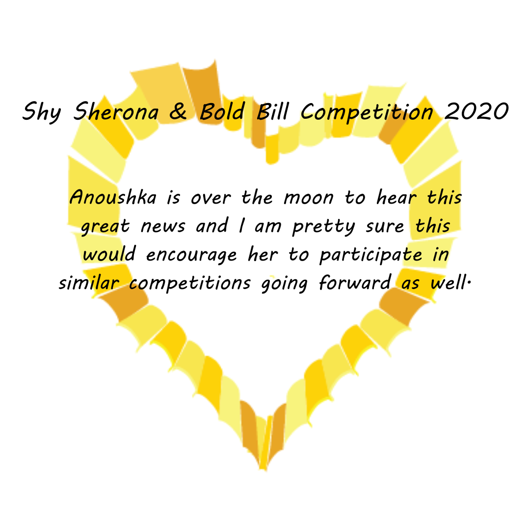 Shy Sherona & Bold Bill Competition 2020