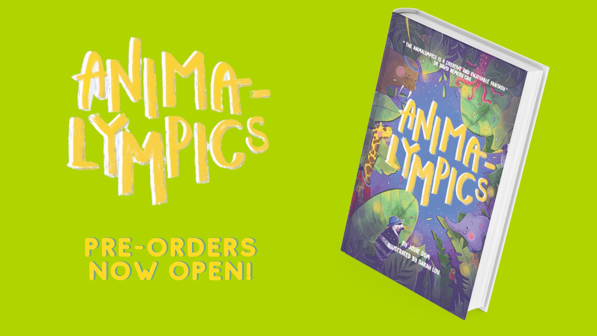 Animalympics Pre-Orders Now Open