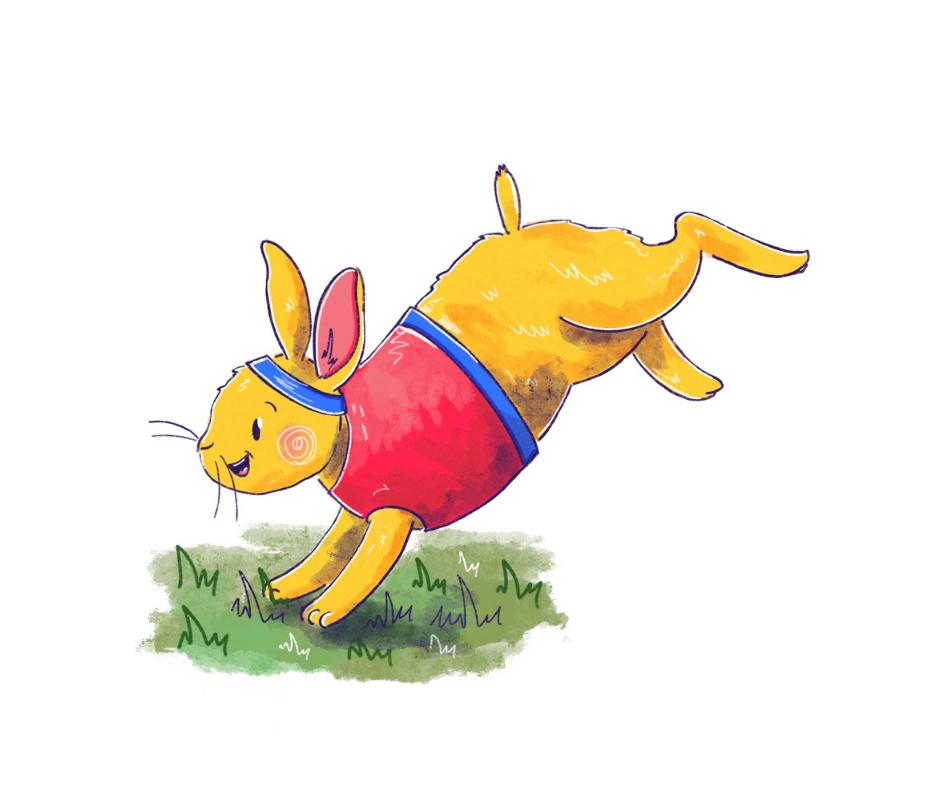 Animalympics rabbit