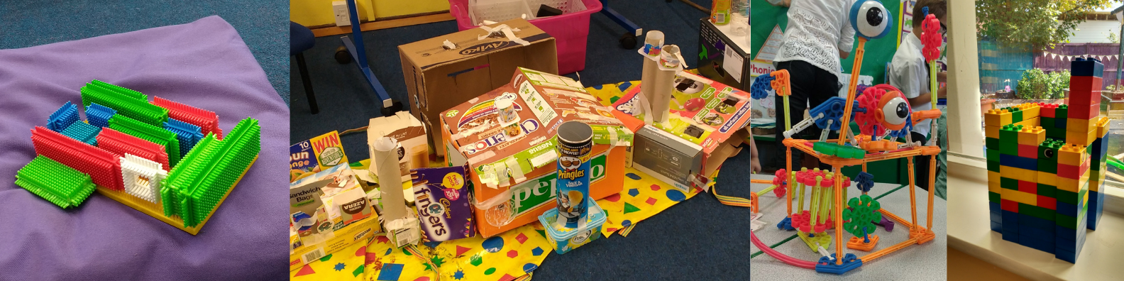 Lum's Houses created by children on school author visits